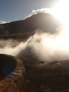 Thursday's Child: El Tatio geysers, Chile