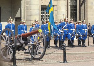 Thursday's child: Royal Palace, Stockholm