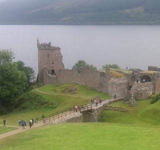 Thursday's child: Urquhart Castle, Scotland