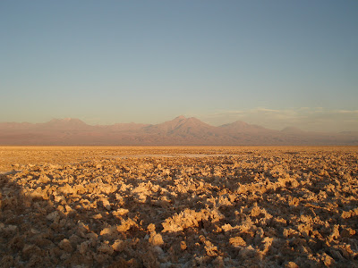 Thursday's Child: Atacama Salt Flats, Chile