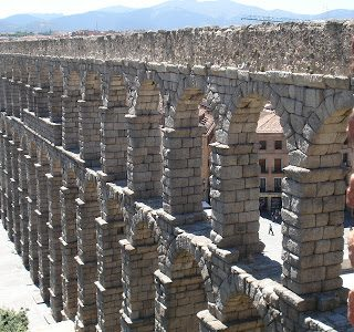 Thursday's Child: The Segovia Aqueduct