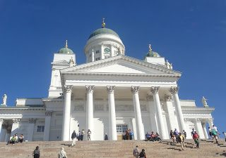Thursday's Child: Helsinki Cathedral