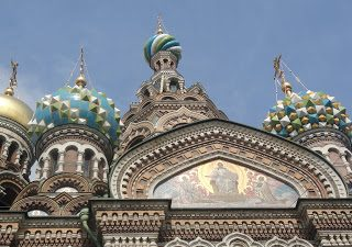 Thursday's Child: Church on Spilled Blood, St. Petersburg, Russia