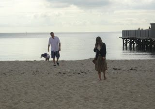 Thursday's Child: The Beach in Aarhus, Denmark