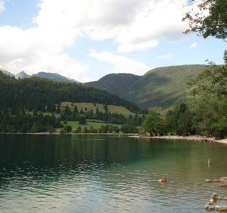 Thursday's Child: Lake Bohinj, Slovenia