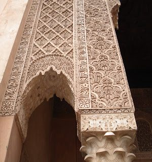 Thursday's Child: Saadian Tombs, Marrakech