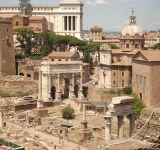 Thursday's Child: The Roman Forum