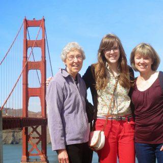 Thursday's Child: Walking the Golden Gate bridge