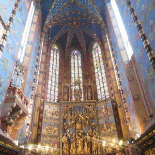 Thursday's Child: St. Mary's Basilica, Krakow