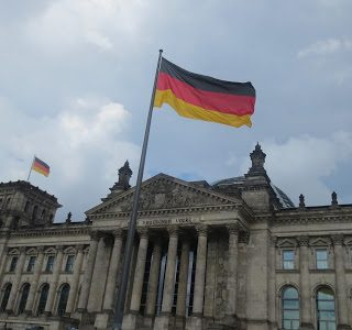 Thursday's Child: The Reichstag building, Berlin