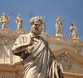 Thursday's Child: St. Peter's Basilica