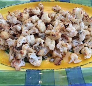 Tahini Roasted Cauliflower